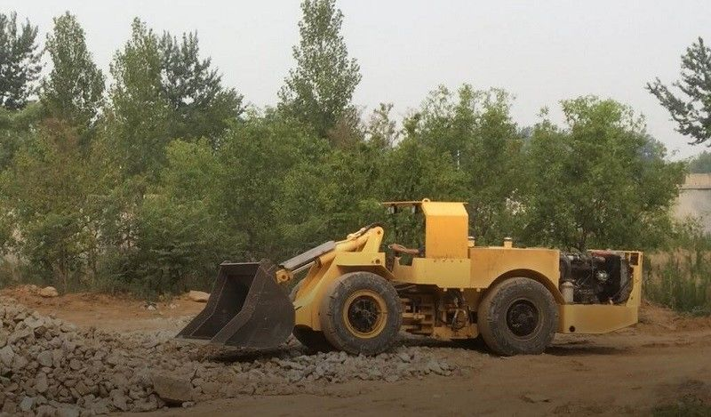 CE Wheel Loader Underground Lhd Machines For Underground Project 0.6 Cubic Meter