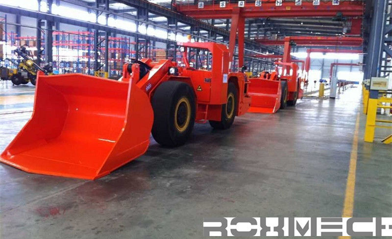 Underground mining Load Haul Dump Machine LHD Loader with CE  RL-3 Wheel Loader for Underground Project