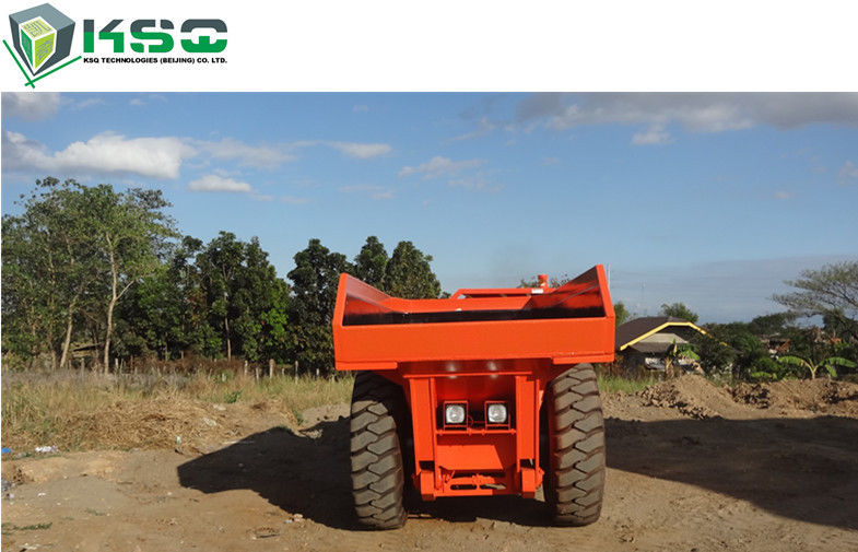Professional Low Profile Dump Truck For Medium Rock Excavation Operations