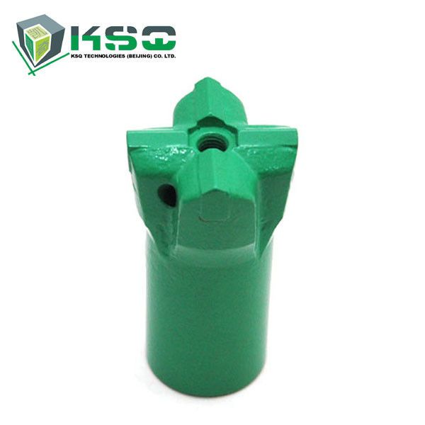 High Strength Alloy Steel 11 Degree Tapered Cross Bits Small Hole Drilling For Mining