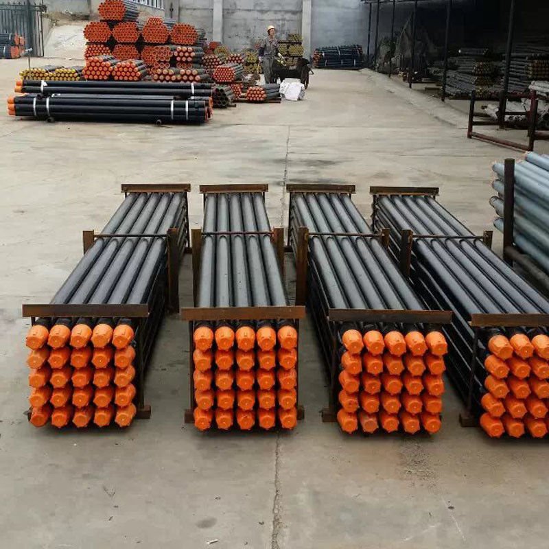 Atlas Copco Forging Down Hole DTH Drill Pipe / Rig Rock Drill Tools